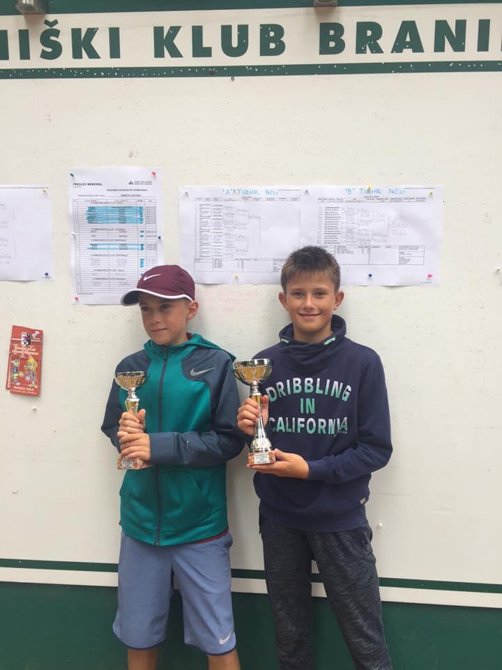 Rezultati turnirja dečkov do 12 let