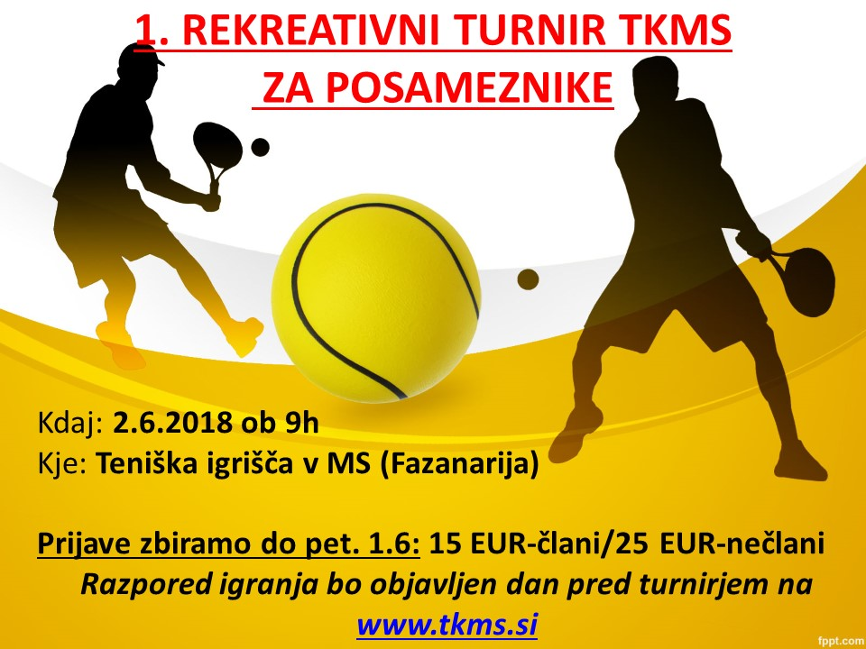 1. rekreativni turnir TKMS