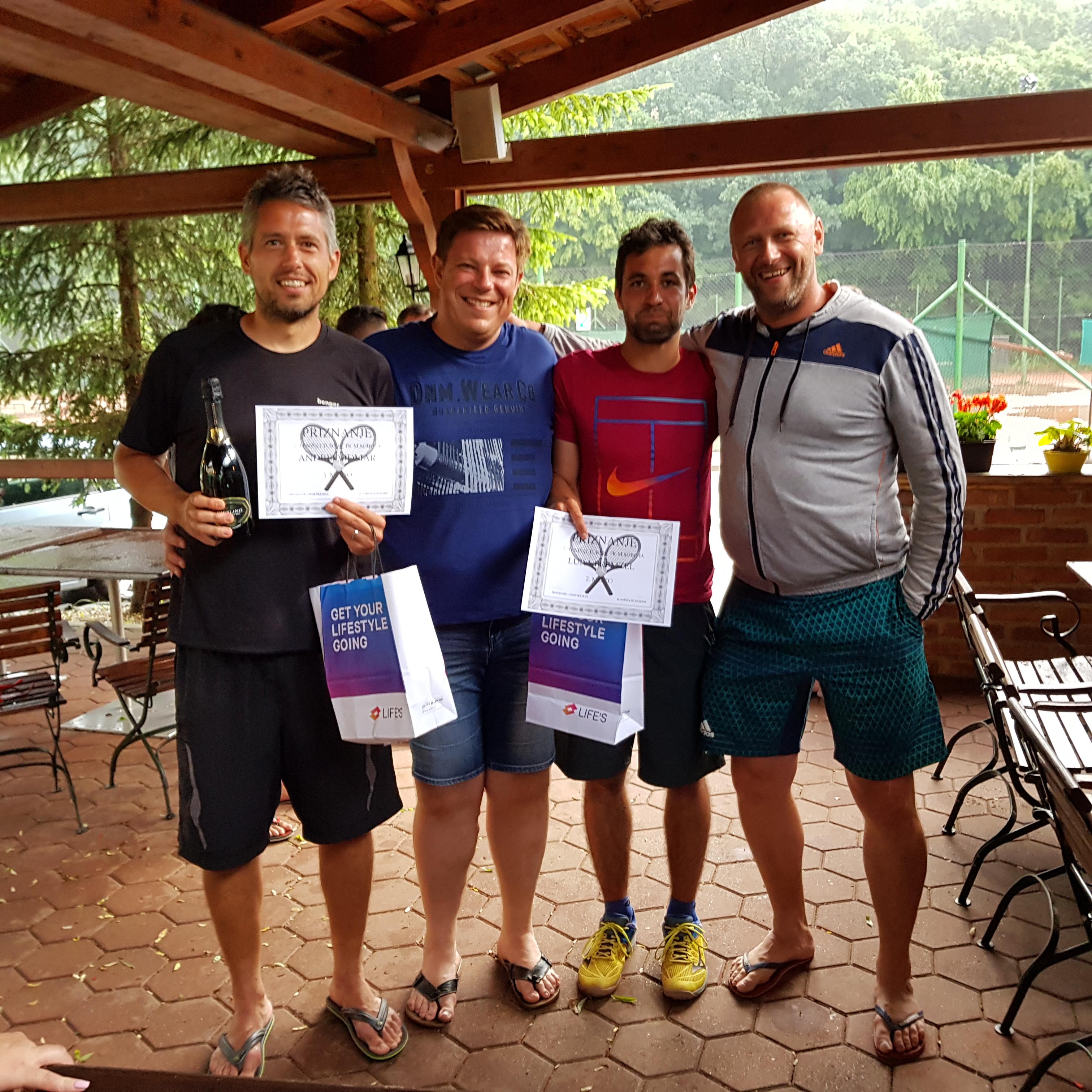 Rezultati 1. teniškega turnirja TKMS 2018