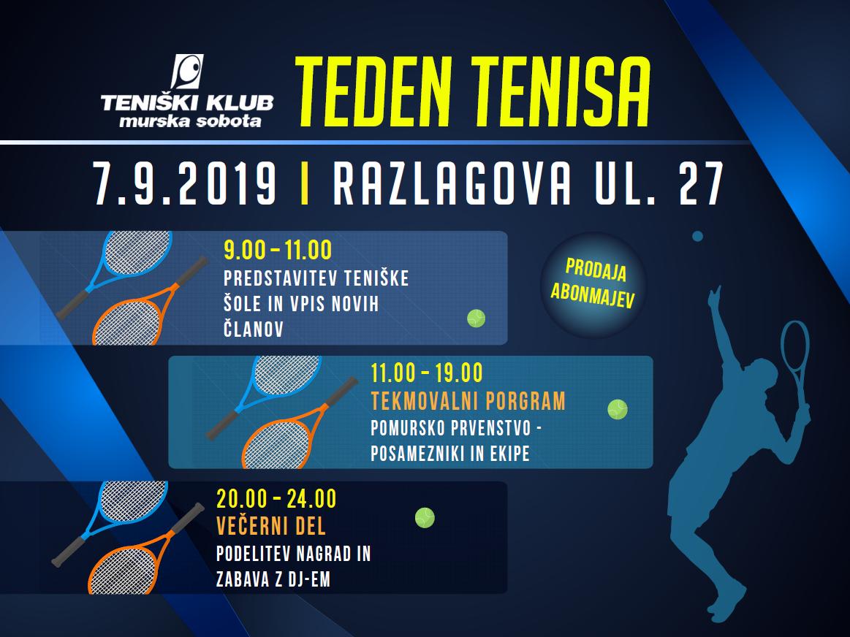 Pomursko prvenstvo v tenisu