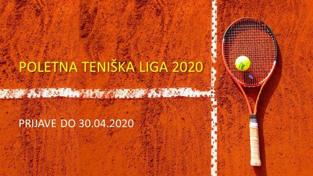 Poletna teniška liga 2020